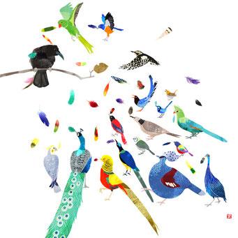 鳥の王様選び 嘘がばれたカラス