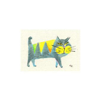 猫のイラスト コワモテ