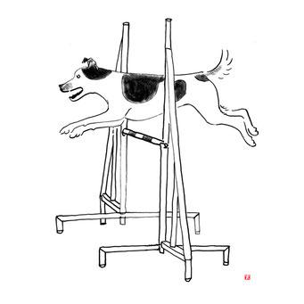 犬のイラスト ジャックラッセルテリア