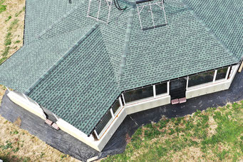 Gonty GAF Timberline HD w kolorze Hunter Green