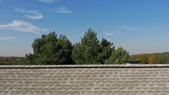 Gont bitumiczny GAF model Timberline HD w kolorze Fox Hollow Gray