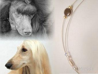 joya-artistica-mi-miga-collar-acero-plata-ley-oro-swarovski-elements-perlas-cristal-pelo-animal-perros-arwen-sauron
