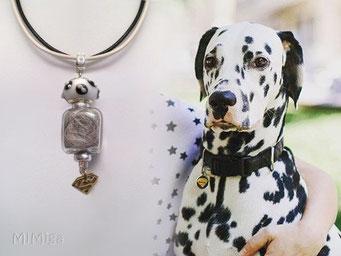 joya-artistica-mi-miga-collar-cuero-bi-color-plata-ley-donut-porcelana-charm-superman-perla-cristal-pelo-animal-perro-shekel