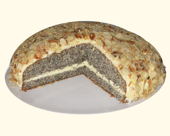Mandel-Mohn-Torte
