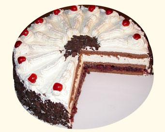 Schwarwälderkirsch-Torte