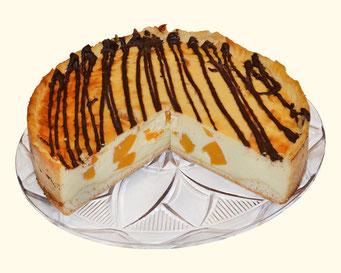 Schmand-Pfirsich-Kuchen