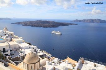 12. November 2016 vor Santorini (Griechenland)