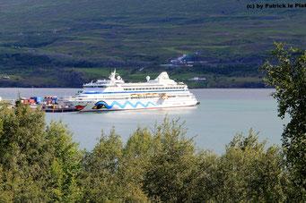 10. Juli 2016 in Akureyri (Island)