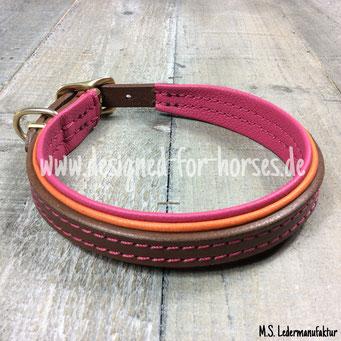 Hundehalsband aus Leder nach Maß
