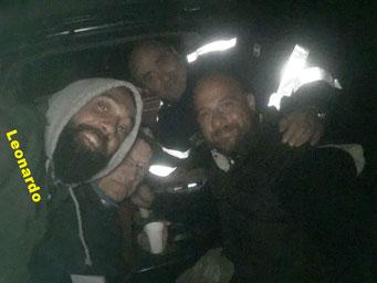 Fabrizio, Antonio, Filippo e Leonardo