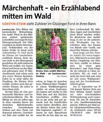 Märchenerzählerin Kirsten Stein aus Kassel