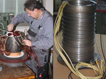 Reparatur von Hauptspindel-Motoren - Hauptspindel-Motoren reparieren © Elektromotoren Reparaturwerk Rock Abenberg Bild 6