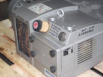 Reparatur von Pumpen und Vakuum - Pumpen aller Hersteller