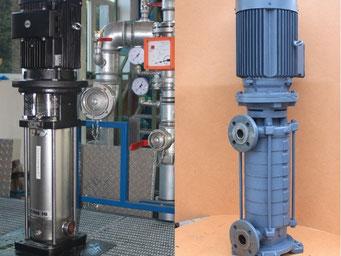 Reparatur von Kreiselpumpen und Standrohrpumpen