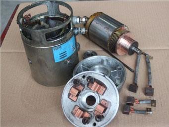 DC - Staplermotoren reparieren - Reparatur von DC - Staplermotoren