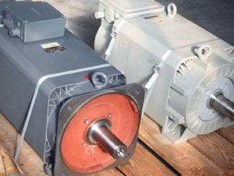 Reparatur von Hauptspindelmotoren aller Hersteller und Ausführungen