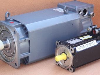AC - Servo Motor reparieren - Reparatur von AC - Servo Motoren