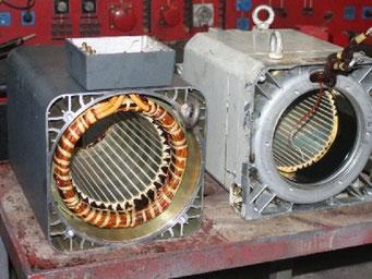 Reparatur von Hauptspindel-Motoren - Hauptspindel-Motoren reparieren © Elektromotoren Reparaturwerk Rock Abenberg Bild 2