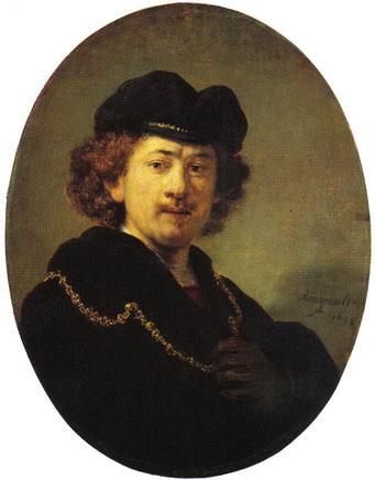 Rembrandt (1600-1669), autoportrait, 1633.