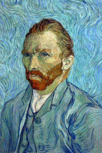 Van Gogh, autoportrait, 1889.