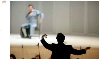 Abbado directs Mozart's 'Don Giovanni', Chamber Orchestra of Europe, Teatro Comunale di Ferrara, Italy, 1997 © courtesy Contrasto/Marco Caselli Nirmal