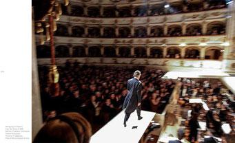 Abbado directs Mozart's 'Così fan Tutte', Chamber Orchestra of Europe, di Ferrara, Italy, 1997 © courtesy Contrasto/Marco Caselli Nirmal