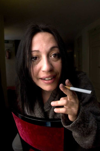 """Cristina Pedetta / """"La Bestemmiatrice"""" by Duccio Camerini"""