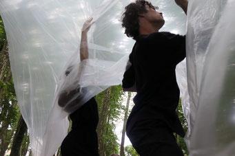 Souffles#1, performance-danse contemporaine, 2021
