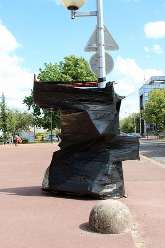Trous noirs - sculptures - 2016