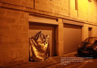 La cape d'invisibilité - 2009