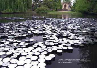 Reflets - installation monumentale - 2009