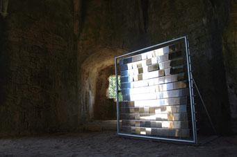 MM1 miroir mouvant - sculpture dynamique - 2009-2010