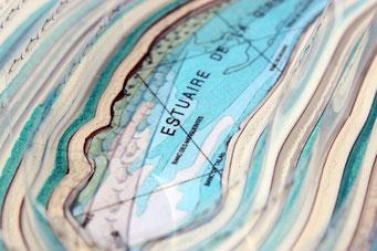 Cernes de l'Estuaire - objet photographique - 2016