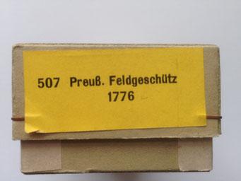 Nr 507 in der ganz alten Kartonverpackung