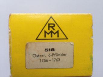 Nr 518 in der Kartonverpackung mit Fenster