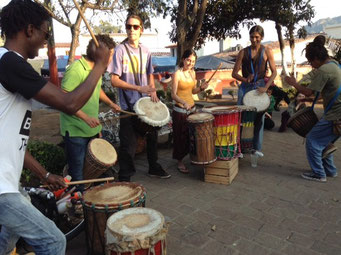 Tambores en Tepoztlan, Mor