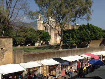Convento de Tepoztlan, Mor