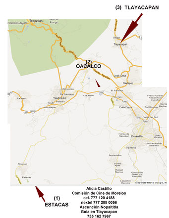 Mapa Morelos