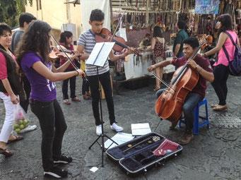 Jovenes músicos de Tepoztlan, Mor