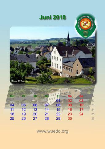 Wünschendorf Kalender 2018