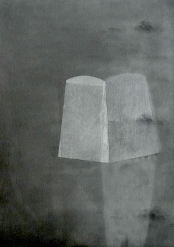4697 - monotype - 40 x 30 cm