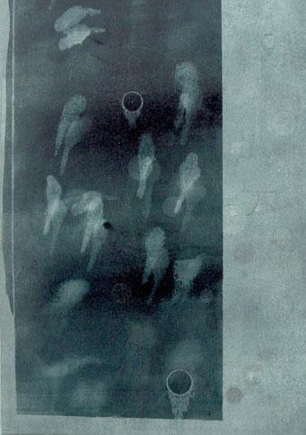 4695 - monotype - 40 x 30 cm