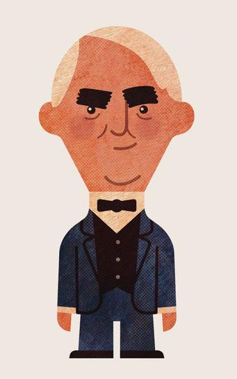 Character-Design für Erklärfilm - Thomas Alva Edison - Kunde: Siemens - Fimproduktion: Just