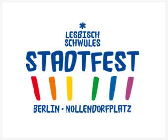 """Link to """"Lesbisch-Schwules Stadtfest"""" in Berlin"""