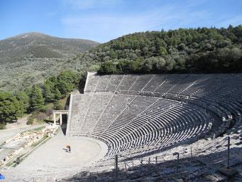Amphi-Theater von Epidaurus