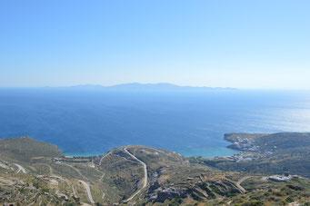Aussicht von Tinos nach Syros