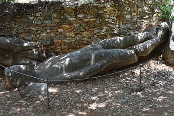 Kouros von Flerio, Naxos