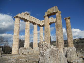Zeusheiligtum, Nemea, Peloponnes