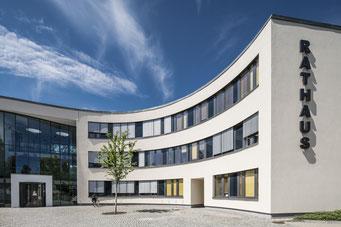 Neubau des Rathaus Neuenhagen