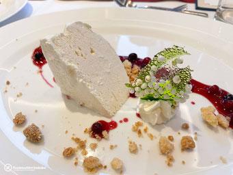 Dessert: Lavendel Parfait
